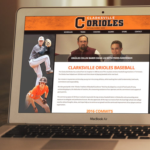Clarksville Orioles website