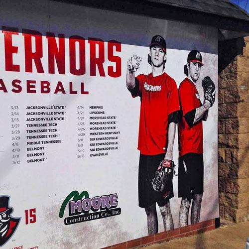APSU baseball wall schedule 2015