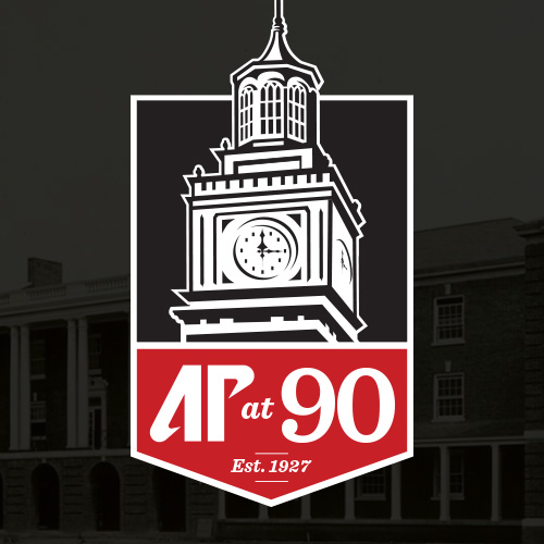 AP at 90 Logo