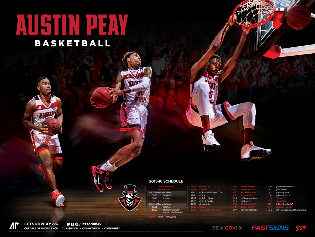 AP basketball poster