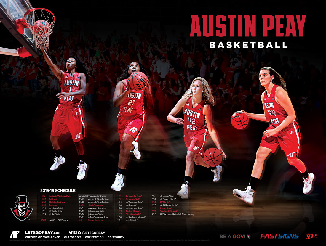 AP basketball poster