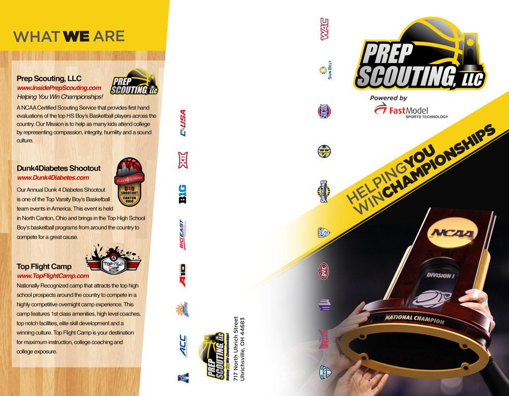 Prep Scouting brochure