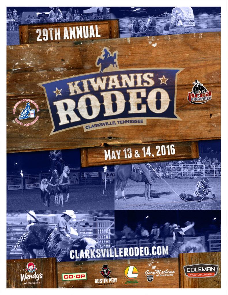 Rodeo Program Score Creative Design Marketing Web