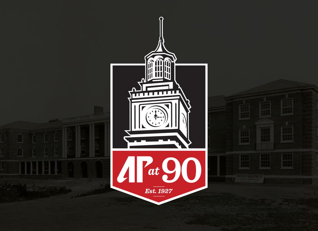 Ap at 90 logo