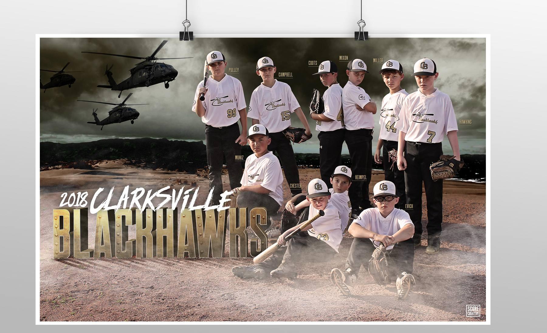 Blackhawks poster