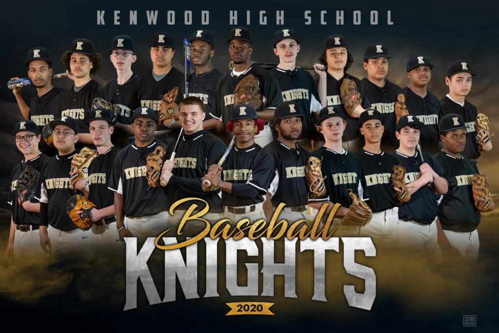 Kenwood baseball banner