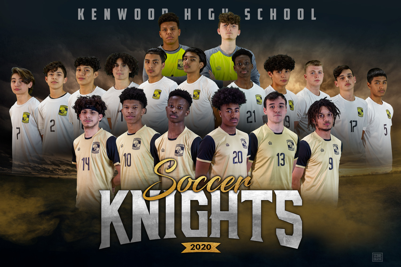Kenwood M Soccer banner