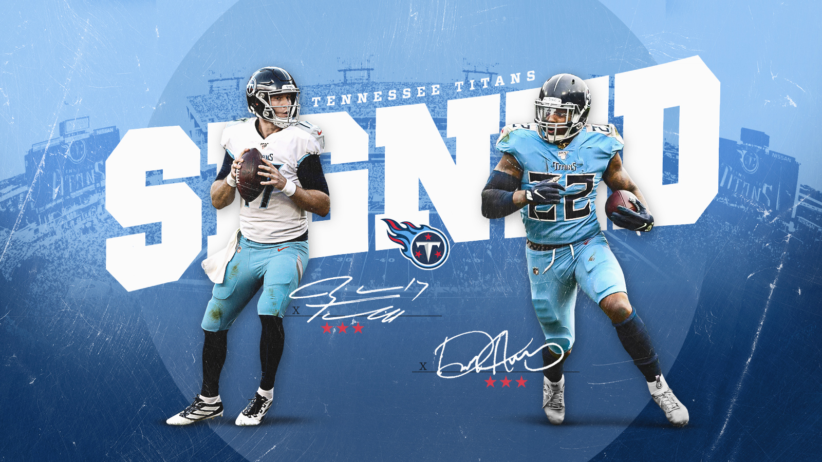 Titans Signed Graphic