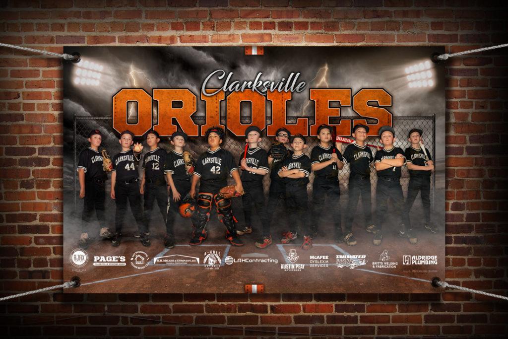 Orioles banner mockup
