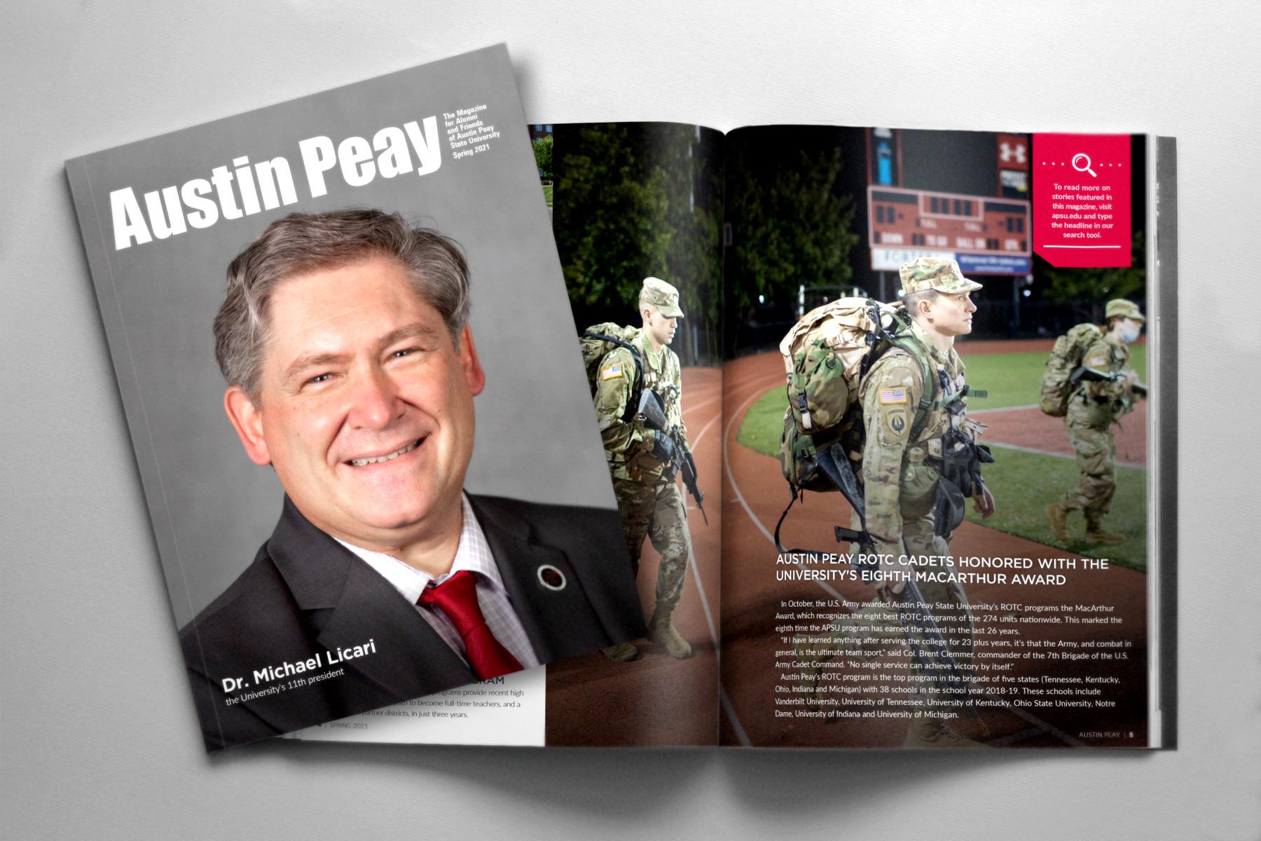 Austin Peay magazine